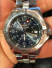 Breitling Aeromarine Colt GMT Swiss Automatic Black - Original Box and Papers!
