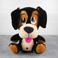 "Peek A Boo Toys Rottweiler Dog Plush 15"" Stuffed Animal Round Black Brown"