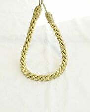 Twisted Plain Thick Satin Rope Plain Simple Modern Fashion Curtain Tie Backs