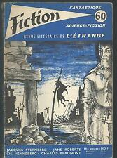 Fiction 60.Jacques Sternberg, Charles Beaumont, Charles Henneberg... SF53