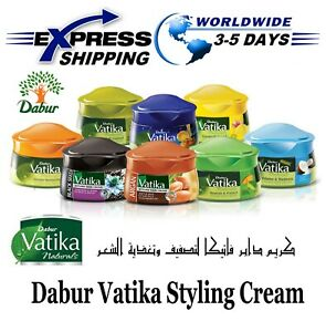Dabur Vatika Natural Styling Hair Nourish & Protect Cream Healthy Look 140 ml