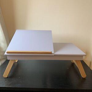 Sofa/Bed Portable Folding Laptop Table/Desk - Futon Company W53 x D33 x H19.5cm