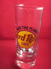 HardRock Cafe Save the Planet San Diego Shot Glass 4 1/4""