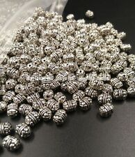Wholesale 100 PCS/lots Tibet silver flower Making jewelry Loose spacers XZ202