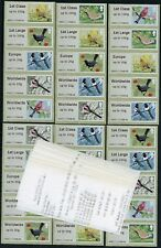 WINCOR TII BIRDS 2 II SET of 30 SG FS11-15 x 6  POST & GO
