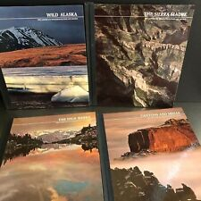 Time Life The American Wilderness Series Set 4 Wild Alaska Sierras Canyons Mesas