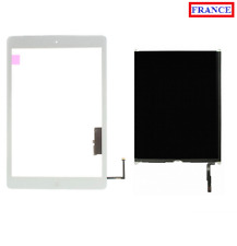VITRE TACTILE + DALLE Ecran LCD IPAD AIR BLANC