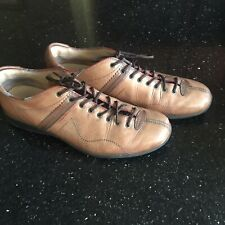 Fossil Mens 12 Leather Lace Up Shoes