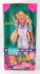 1993 Cool Crimp Skipper Barbie Doll