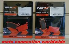 RFX PRO SERIES KTM SX85 2003 - 2010  FRONT & REAR BRAKE PADS  50400 x2