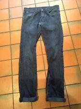Zara Man Sports Moda Blue Jeans Turn Up Cuffs Size Eur 38