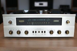 Vintage Fisher 500-C Stereo Tube Receiver - Clean & Working (800 & 400 family)