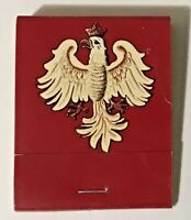 Przybylo's White Eagle Restaurant Milwaukee Ave., Niles, IL Matchbook FULL