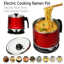 Electric Cooking Ramen Pot Multi Pot for Ramyun Noodle Boiled Egg (for Foods)