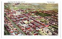 Aerial View Gary, IN Postcard *5N(2)6