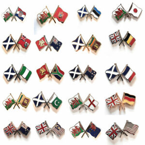 Friendship Metal Lapel Pin Badge Choice of 250+ Designs FAST & FREE UK Delivery!