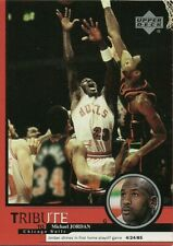 1999 UPPER DECK MICHAEL JORDAN SHINES IN 1ST HOME PLAYOFF GAME TRIBUTE #2 CARD