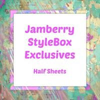 jamberry half sheets 🦄  stylebox exclusive sbe 🦄 buy 3+,15% off - NEW STOCK!!