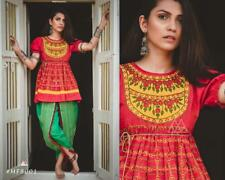 Navratri special dance with flairy kedias n matching tulip pants a complete look