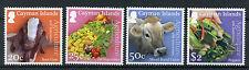 Isole Cayman 2016 MNH agricoltura cinquantesimo anniv 4V Set capre mucche frutti STAMPS