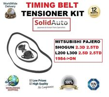 FOR MITSUBISHI PAJERO SHOGUN 2.3D 2.5TD L200 L300 2.5D 1984->ON TIMING BELT KIT