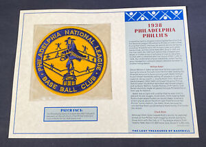 Willabee & Ward Lost Treasures Of Baseball Collection 1938 Philadelphia Phillies