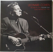 Leonard Cohen End Of Love Volume Two Zurich Broadcast 1993 Double LP Vinyl