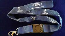 Ford Champions League Lanyard Keyholder Championship Edition blau Fussball