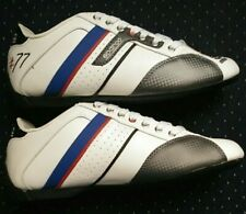 Sparco TIME 77 Motorsports Style Leather Shoe WHITE