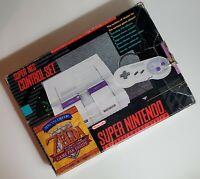 Super Nintendo (SNS-001) Console SNES CIB Zelda: A Link to the Past Edition