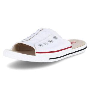 Converse Unisex Pantoletten CT AS Sandal Weiß Textil 121899