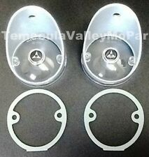 Set of Parking Lamp Lenses with Gasket for 1968-1969 Dodge Charger B-Body