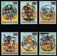 UPU 100 Jaar - Guine-Bissau postfris 1976 MNH 374-379 (upu156)