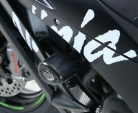 R&G Black Crash Protectors - Aero Style for Kawasaki ZX10-R 2014