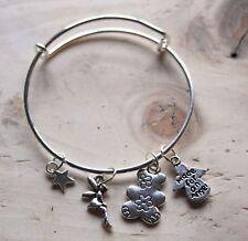 Childrens Charm Bracelet 'Made For An Angel' Flower girl