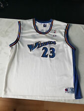 Michael Jordan Washington Wizards Maillot/jersey taille 48/xl de Champion, comme neuf