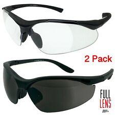 2 PACK LOT Full Magnifying Lens Sunglasses Safety Reader Reading Glasses Z87+