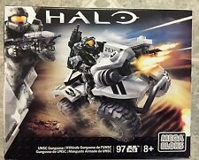 *MEGA BLOKS HALO* UNSC Gungoose Set CNH24- NEW IN BOX BUT MISSING FIGURE