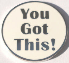 You Got This! Golf Ball Marker - Package of 2 - One Silver & One Gold Lettering