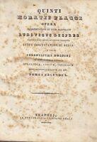 QUINTI HORATII FLACCI OPERA di Ludovico Desprez 2 volumi completo 1840 - 1841