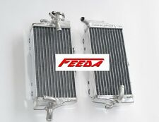 2 ROW Radiator FOR Honda CR125R CR125 CR 2005-2007 left and right