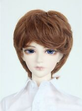 Colorful 20~24cm 1/3 BJD Boy Men Doll SD Wig Dollfie DZ DOD LUTS Short Cool Hair