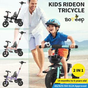 BoPeep Baby Walker Kids Tricycle Ride On Trike Bike Toddler Balance Bicycle