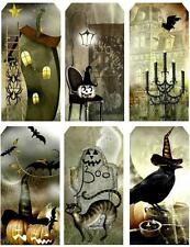 Halloween Haunted House Tag Shape Card Making Toppers ~ Scrapbooking / Crafting