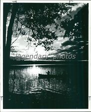 1975 Canoeists in Whiteshell Provincial Park Original News Service Photo