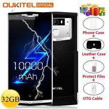 """10000mAh OUKITEL K10000 Pro 5,5"""" 32GB Android 7.0 Octa Core Dual SIM 4G Handy DE"""