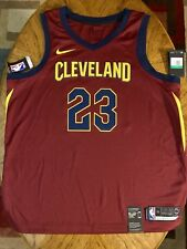 NWOT 2018 Nike LEBRON JAMES CLEVELAND CAVALIERS NBA Swingman JERSEY 52 XL  Lakers c31a4ad12