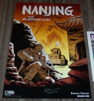 Dark Horse Comics NANJING The Burning City Poster SIGNED ETHAN YOUNG NYCC 2017