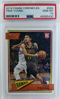 2018 18-19 Panini Chronicles Classics Trae Young Rookie RC #665, PSA 10, Pop 14!
