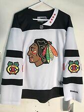 Reebok Women's Premier NHL Jersey Chicago Blackhawks Team White Stadium Ser sz M